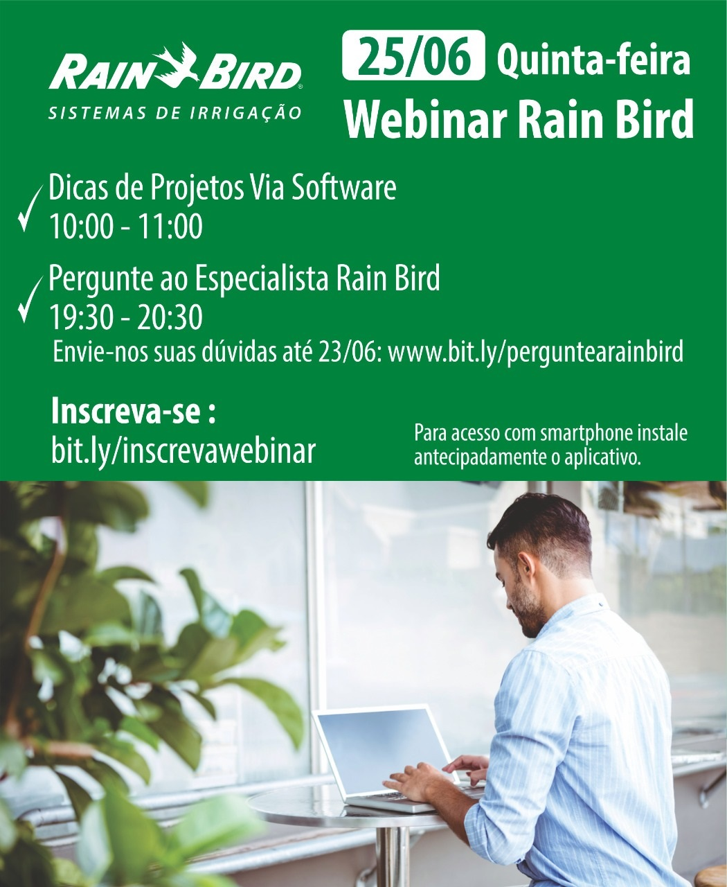 Webinar AuE Software y Rain Bird Brasil