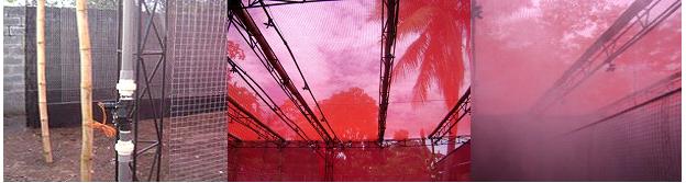 Instalación de un sistema de nebulización para una guardería